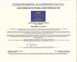 ASAMS are now pleased to announce they have achieved accreditation to ISO 17025