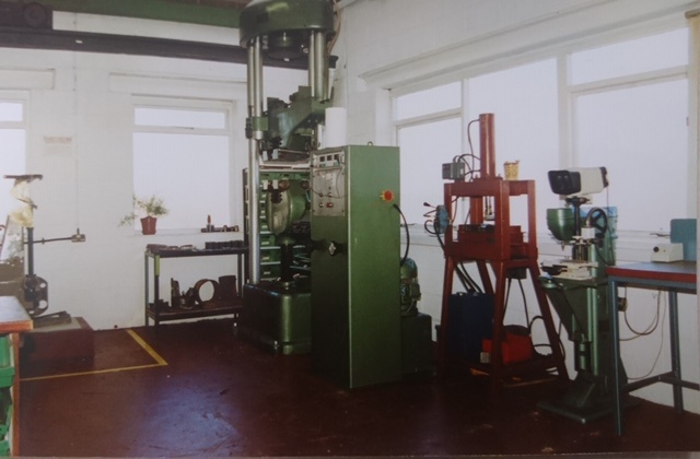 ASAMS lab in 1989